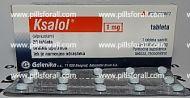 Xanax generic Ksalol ( alprazolam ) 1mg x 180 pills. Delivery from EU.
