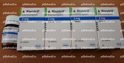 Klonopin/Rivotril Roche clonazepam 2mg x 180.